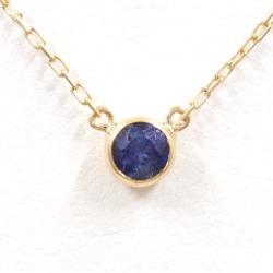 オーレフィーチェ K18YG necklace sapphire used jewelry ★★ giftwrapping for free