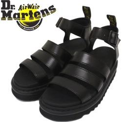 Regular dealer Dr. Martens (doctor Martin) 24191001 WMS BLAIRE blurring ground trap Lady's leather sandals BLACK