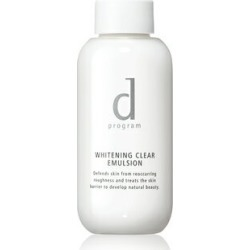 Shiseido d program whitening clear emulsion 100mL (change emulsion business)] (emulsion for the sensitive skin) [product targeted for a locker receipt]