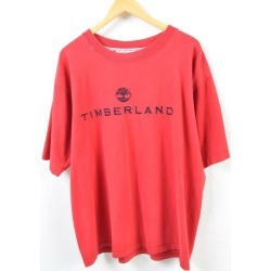 Men XL /wbd5599 made in Timberland Timberland logo print T-shirt USA