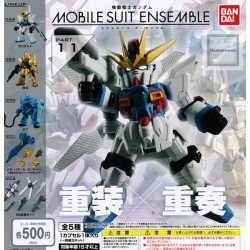 [Gacha gacha complete set] Mobile Suit Gundam MOBILE SUIT ENSEMBLE PART11 set of 5