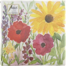 Paper Towel Watercolor Flower Anbiente, Floral, Spring found on Bargain Bro India from Rakuten Global for $4.00