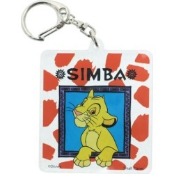 To key ring key ring acrylic Lion King Shinba Disney Small planet collection petit gift mail order 10/29