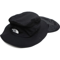 THE NORTH FACE sun shield hat NN01812 black size: M (the North Face)