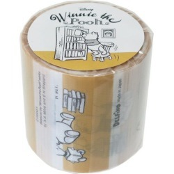 To book Winnie-the-Pooh 45mm design good self-care テープディズニーデルフィーノビッグマステ wide packing tape teens miscellaneous goods mail order marshmallow pop 10/29
