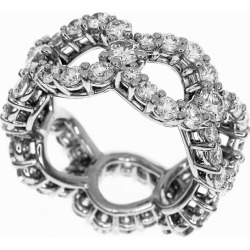 HARRY WINSTON Harry Dai Winston-ya (D3.06ct) loop by Harry Winston ring PT950 platinum Japan size approximately seven ♯ 47 lady's ring HW30490711