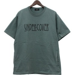 UNDER COVER 2017SS BIG T print T-shirt T-shirt green size: 2 (under cover)