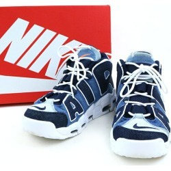 NIKE Nike AIR MORE UPTEMPO '96 QS air more up tempo sneakers blue 26cm men