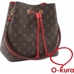 Take Louis Vuitton shoulder bag monogram neo-Noe Lady's M44021 body Rico deep-discount exemption from taxation Louis Vuitton red red shawl slant; LOUIS VUITTON A172896