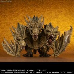 [FIG] Godzilla King of monsters finished product figure skating PLEX / essence plus (January, 2020) for the デフォリアルキングギドラ (2019) public circulation