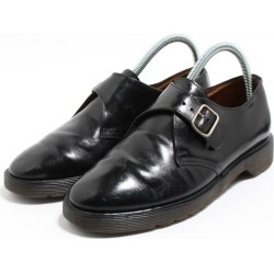 UK6 Lady's 24.5cm /bon5560 made in the Monk strap shoes U.K. in front of doctor Martin Dr. Martens carved seal