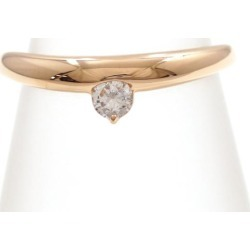 Vendome Aoyama K18PG ring 11.5 diamond 0.133 used jewelry ★★ giftwrapping for free