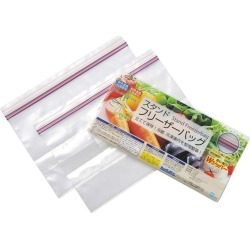 With two pieces of stands freezer bags [cancellation, change, returned goods impossibility]