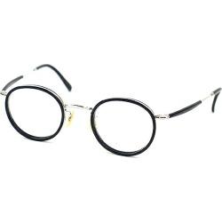 THE BARRACKS ザバラックス THE FRITZ military eyewear glasses navy X silver found on Bargain Bro India from Rakuten Global for $119.00