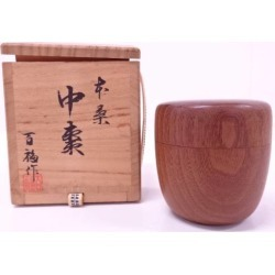 Jujube [tea ceremony / tea set / tea service set / curio / tea / jujube] out of the Takahashi 100 Fukuzo mulberry