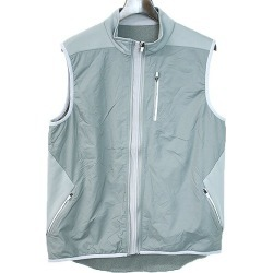 Descente Descente 16AW running fleece best men gray 0