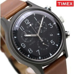 Timex watch MK1 men TW2T29600 TIMEX clock black X brown