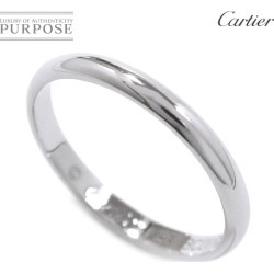 Cartier Cartier classical music #53 ring Pt950 2.5mm in width platinum ring