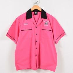 Hilton HILTON bowling shirt men M /wbd9728