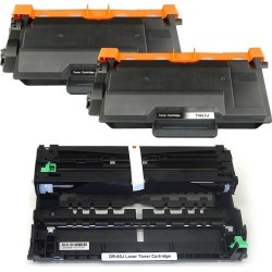 Drum bargain set black toner & drum set compatible with toner two & DR-60J(84XXJ000147) compatible with TN-63J (TN-62J increase in quantity country non-release type) for the brother