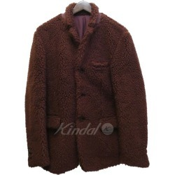 UNDER COVER 18AW UCV4103 boa fleece jacket Bordeaux size: 2 (under cover)