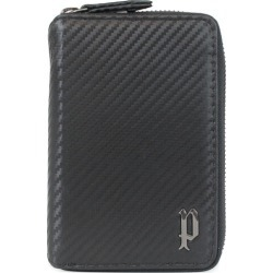 POLICE LUCENTE ROUND SHORT WALLET police wallet mini-wallet men round fastener leather black black PA-70202 [7/26 Shinnyu load] [197]