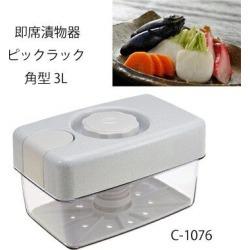 Pearl metal impromptu pickle device pick rack corner type 3L C-1076 [cancellation, change, returned goods impossibility]