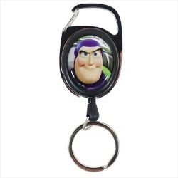 Key ring Disney Nakajima Corporation key ring gift miscellaneous goods teens miscellaneous goods mail order marshmallow popping to be prolonged with buzz & Jesse Toy Story 4 reel