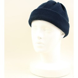 UNIVERSAL PRODUCTS universal products X COMESANDGOES cams and gauze knit cap men navy
