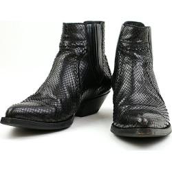 SAINT LAURENT PARIS Saint-Laurent Paris 15SS LOOK1 python Santiago boots black 41 (around 26cm) men