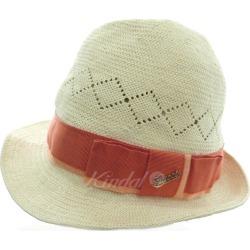 GUCCI straw hat natural size: L (Gucci)