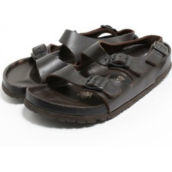 38 Lady's 24.5cm /boo5316 made in ビルケンシュトック BIRKENSTOCK Milan comfort sandals Germany
