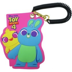 To ducky & bunny Toy Story 4 pass case silicon Disney Small planet commuting attending school miscellaneous goods pass holder teens miscellaneous goods mail order marshmallow pop 10/11