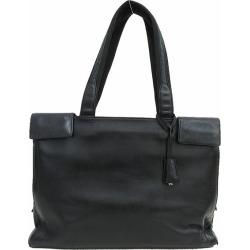 PRADA (Prada) shoulder bag / tote bag black black leather netshop