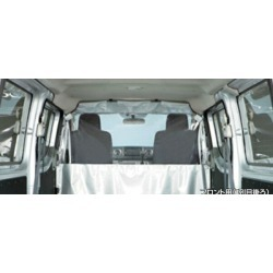 """NV350 caravan"" genuine VR2E26 VW2E26 VW6E26 CW8E26 CS8E26 CS4E26 CW4E26 KS2E26 KS4E26 DS4E26 DW4E26 DS8E26 partition curtain front parts Nissan genuine parts option accessories article"