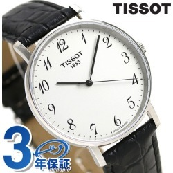 T-classical music every thyme 42mm men's T109 .610.16.032.00 silver X black in TISSOT Tissot arm in total