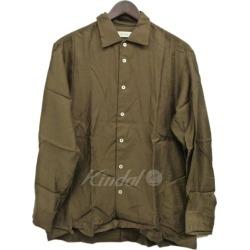 EN ROUTE ENR twill flat collar shirt