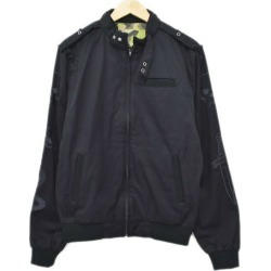 LUCIEN PELLAT-FINET X FULL COUNT zip up blouson navy size: M (ルシアンペラフィネ)