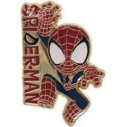 Spider-Man pin badge Ma Bell Small planet petit gift collection miscellaneous goods teens miscellaneous goods mail order marshmallow pop