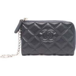 Chanel coin case key ring matelasse Lady's CHANEL