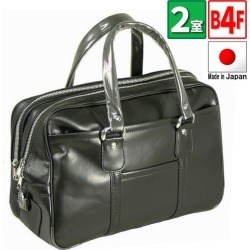G gusto men Boston bag synthetic leather black 10,084-1