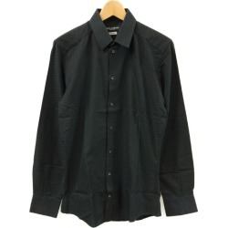 It is dolce and Gabbana long sleeves shirt G5DY4T FM5EJ men SIZE 39 (M) DOLCE & GABBANA until - 9/3 23:59 at 9/2 18:00