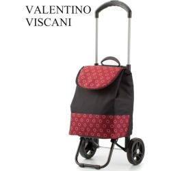 Valentino vis car elm Dis cold storage shopping cart black X red 15,161-9