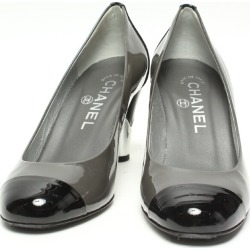 It is Chanel SIZE 35 (M) gills Mel by color pumps CHANEL Lady's until - 9/11 1:59 at 9/9 18:00