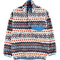 Patagonia Patagonia SYNCHILLA シンチラ whole pattern fleece pullover men XS /wbi3390 made in 15 years