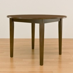 """It includes the round dining table / living table brown wooden """"Sunny"""" postage!"""