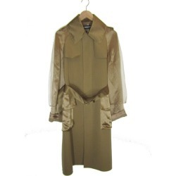 UNDER COVER trench coat beige size: 1 (under cover)