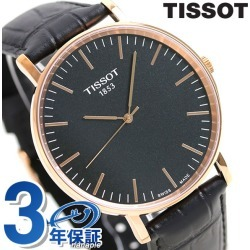 T-classical music every thyme 42mm men's T109 .610.36.051.00 black in TISSOT Tissot arm in total