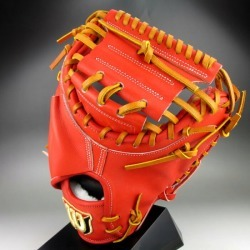Right-handed Wilson staff WTAHWS2BZ(22)E orange for the Wilson general rigid catcher