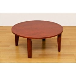 It includes the NEW roundtable / folding low table brown wooden woodgraining postage!